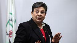 Vooraanstaande Palestijnse vredesonderhandelaar mag VS niet meer binnen