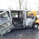 Autobrand Oss aangestoken door molotovcocktail
