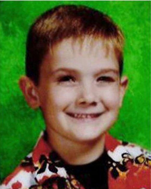 Timothy Pitzen als zesjarige.