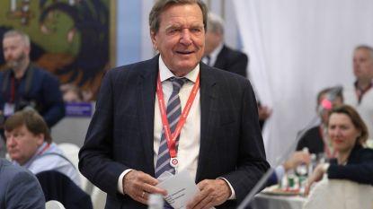 Duitse oud-bondskanselier Schröder vindt aandacht voor klimaat overdreven