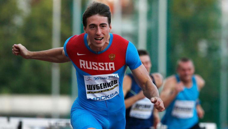 De Russische atleet Sergey Shubenkov. Beeld anp