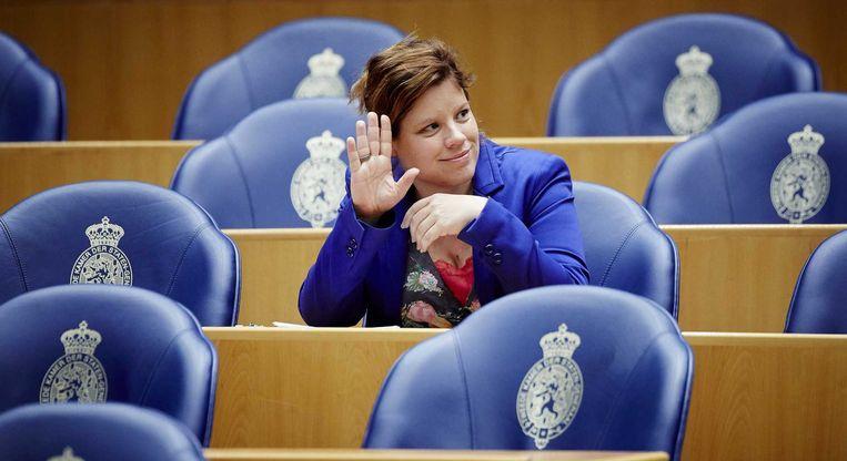 GroenLinks-Tweede Kamerlid Linda Voortman Beeld anp
