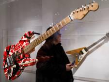 Gitaren van Eddie Van Halen geveild