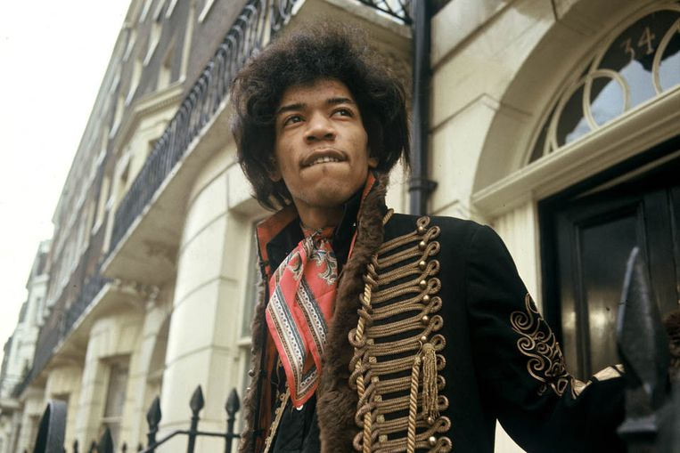 Jimi Hendrix (archief) (ANP) Beeld KIPPA