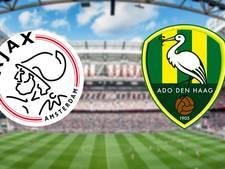 Ajax kan voor topper tussen PSV en Feyenoord druk opvoeren
