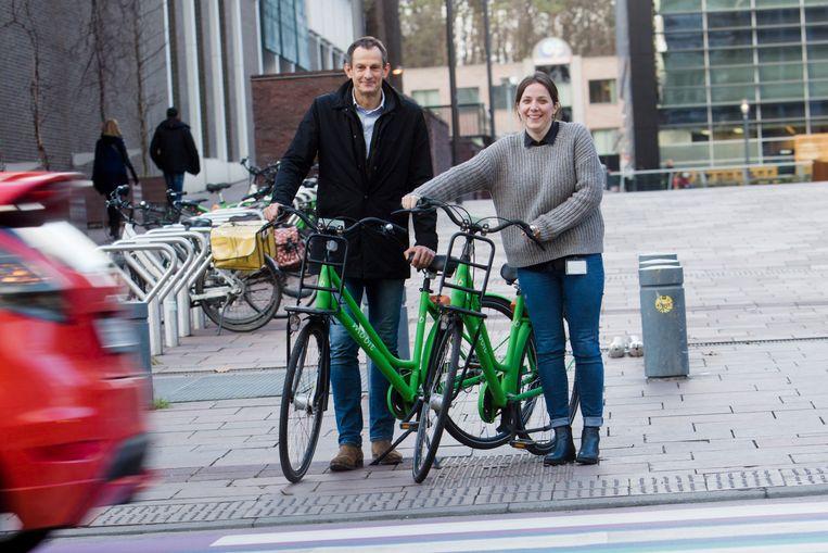 Het fietsdelen is volgens schepen van mobiliteit Michaël Dhoore een succesverhaal in Genk.