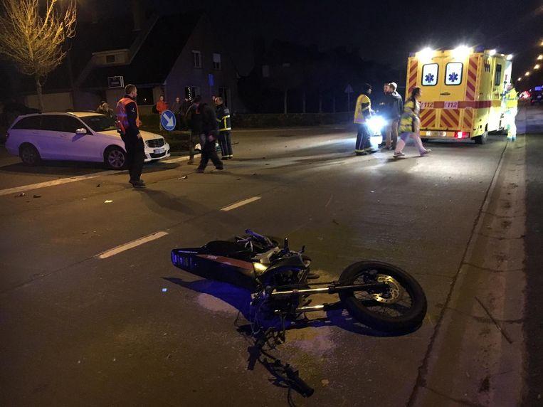 Het zware ongeval gebeurde op 12 december 2016.