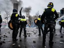 Autoriteiten Eindhoven: Dit was geen demonstratie, geweld tegen politie van begin af aan het doel