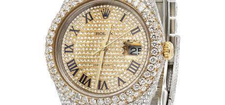 Een Rolex is een geliefde roversbuit