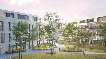 Van één voormalig provinciegebouw naar twee nieuwe 'blokken' met flats