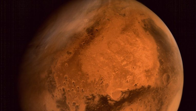 De planeet Mars. Beeld afp