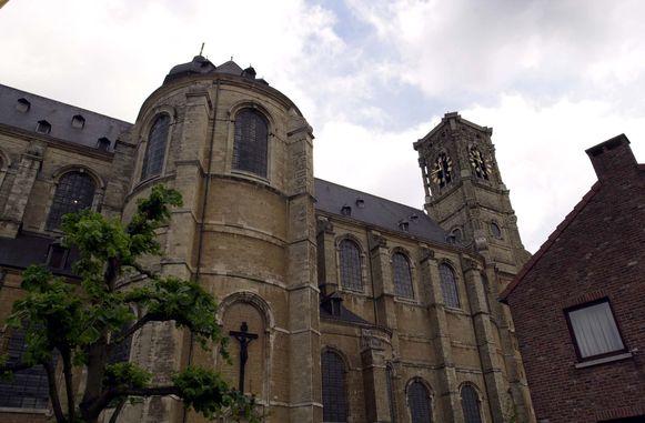 De abdij en basiliek in Grimbergen.