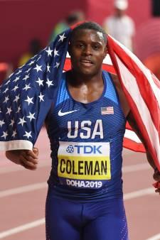 Le champion du monde du 100 m Christian Coleman suspendu provisoirement