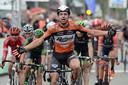 September 2015. Dylan Groenewegen wint als renner van Roompot de Brussels Cycling Classic.
