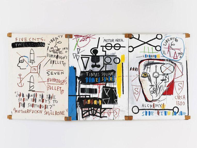 Five Fish Species 1983 van Jean-Michel Basquiat Beeld anp