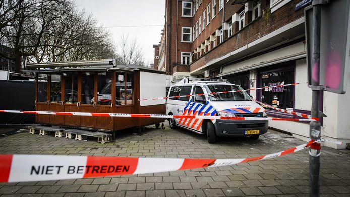 In Amsterdam werd voor een waterpijpcafé het hoofd van Nabiel Anzieb gevonden.