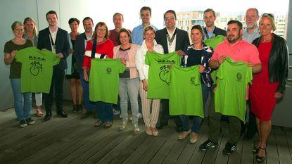 Ronde Tafel schenkt T-shirts aan MEGA-project