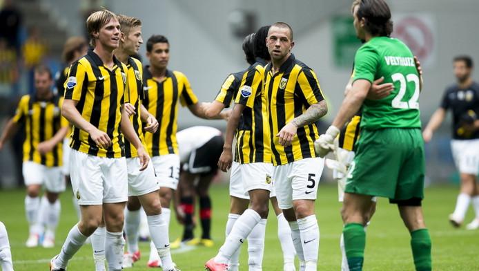 Vitesse speelt nu nog zonder shirtsponsor.