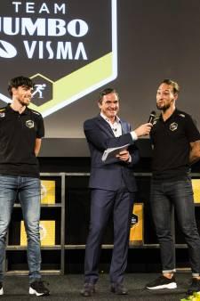 Volop gelach in Veghel bij presentatie schaatsploeg Jumbo-Visma