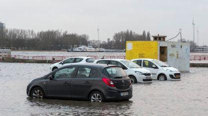 "Stormtij op komst: ""Verplaats geparkeerde auto's op Antwerpse kaaien vóór zondag 15 uur"""