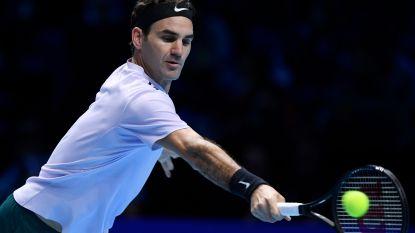 VIDEO: Federer kent geen moeite met Sock op de Masters, al had hij deze beweging absoluut niet verwacht