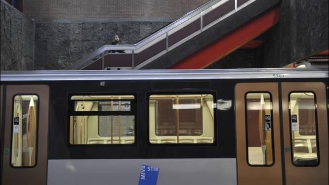 Brusselse metrobestuurders voeren actie na agressie