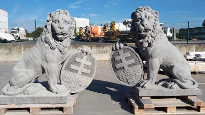 Zottegems bedrijf maakt leeuwen voor Menenpoort in Ieper