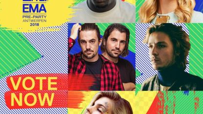 Ontdek hier alle Belgische genomineerden voor de MTV European Music Awards
