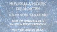 Nieuwjaarsduik in De Mosten op 6 januari