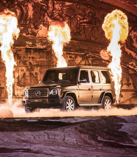 Mercedes G-Klasse is nieuw, maar niemand ziet het