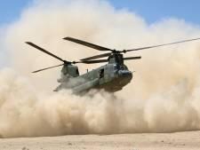Van zonnig Zuid-Europa naar de zandvlaktes van Oost-Nederland: gevechtsheli's oefenen drie weken lang