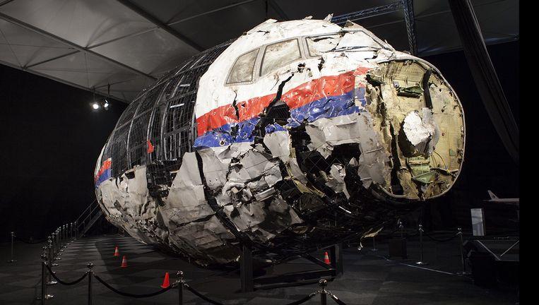Afbeelding uit het rapport over de MH17. Beeld null