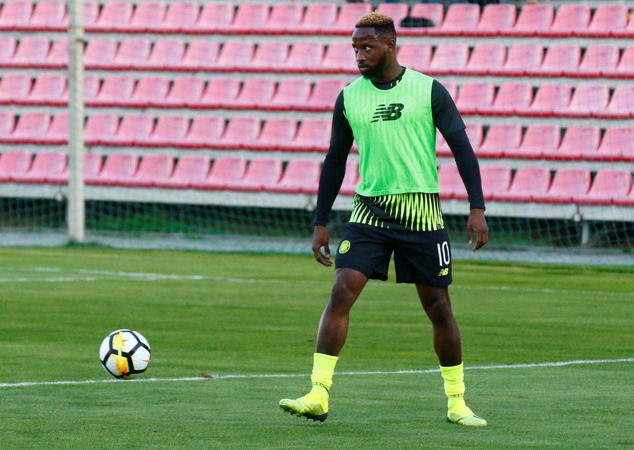Dembélé tijdens een training.