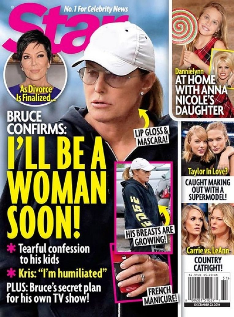 Cover van het tijdschrift Star. Beeld -