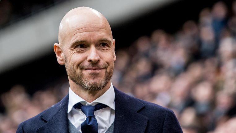 Ajax-trainer Erik ten Hag Beeld anp