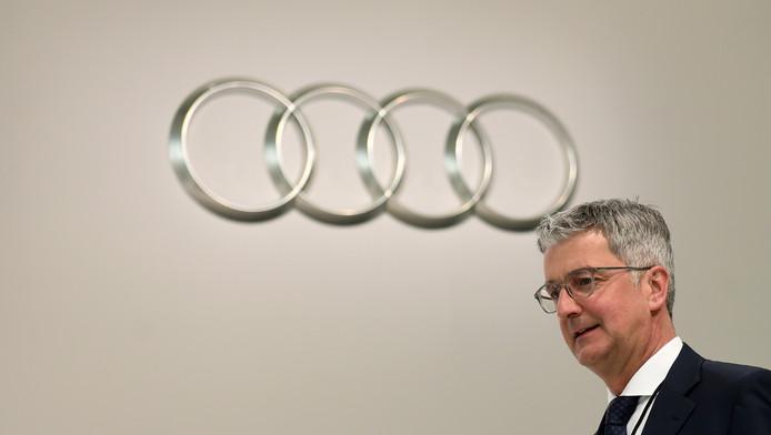 Rupert Stadler, le CEO d'Audi, en mai 2017.