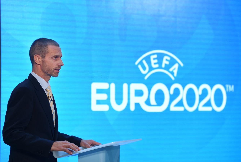 Aleksander Ceferin, président de l'UEFA.