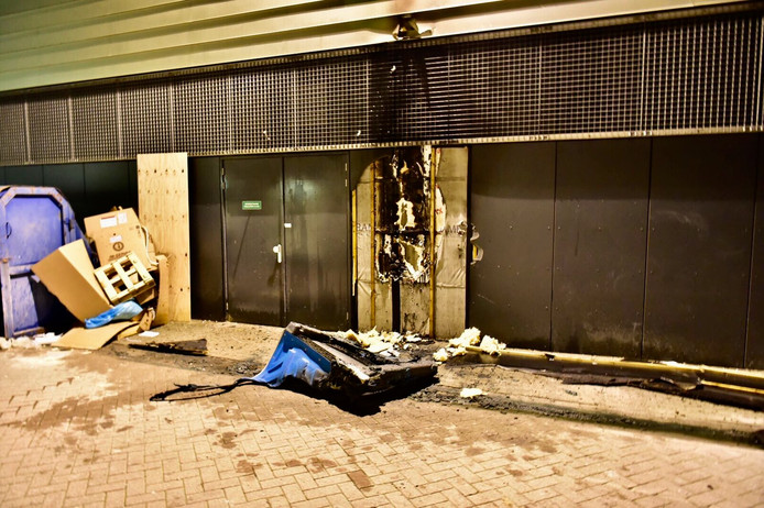 Brand bij bioscoop Eindhoven.