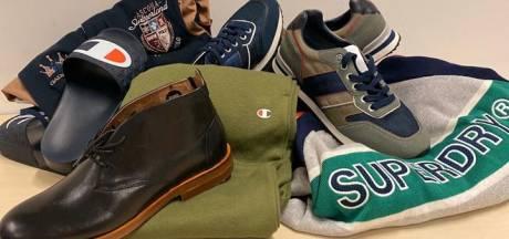 Nijmeegse politie schenkt gestolen merkkleding en schoenen aan goed doel