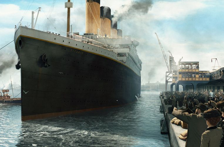 Titanic. Beeld Special Effects door Rob Legato