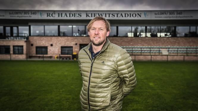 """Michel Verhoeven (RC Hades) is het eens met stopzetting competitie in amateurvoetbal: """"Iedereen kan leven met deze beslissing"""""""