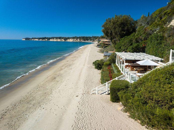 La plage de Paradise Cove.