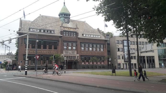 Vesta-gebouw aan de Jansbuitensingel in Arnhem
