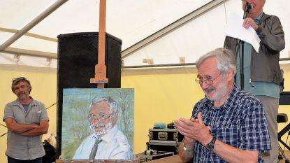 Supervrijwilliger en Natuurpunt-voorzitter Piet Onnockx gehuldigd met 'Cultuur op Spoor'-prijs