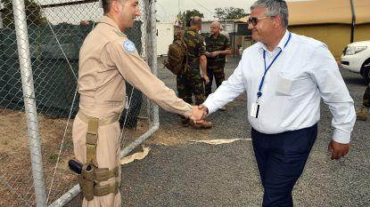 Defensieminister Vandeput en parlementsleden aangekomen in Mali