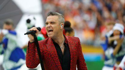 Opvallend: Robbie Williams geeft concerten in Amerika, waar hij nooit doorbrak