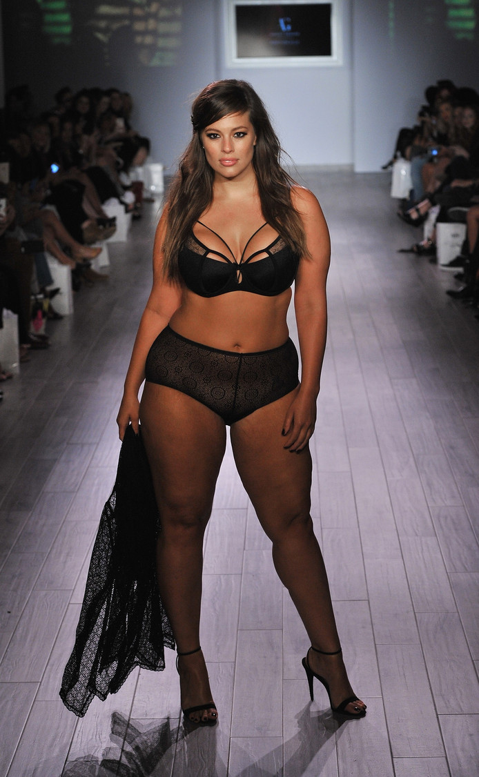 Topmodel Ashley Graham is het boegbeeld van #bodypositivity.