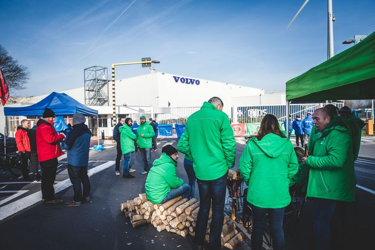 Nationale staking in Gent, Volvo Trucks (archiefbeeld).