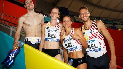 Olympisch ticket en finale op WK atletiek voor gemengd 4x400m aflossingsteam