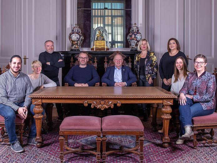 Schepencollege en burgemeester van Vilvoorde